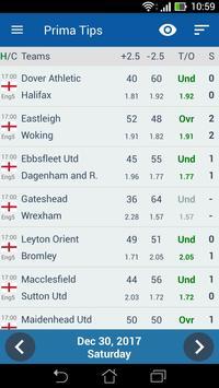 Football Predictions Prima Tips تصوير الشاشة 2