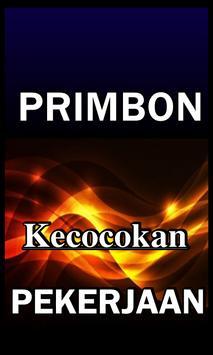 PRIMBON KECOCOKAN PEKERJAAN LENGKAP poster