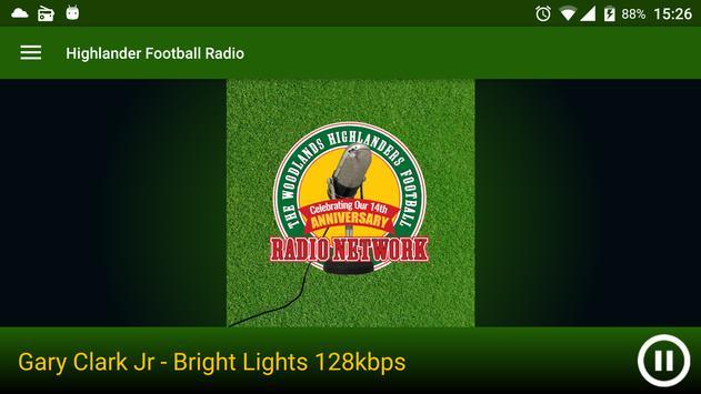 Highlander Football Radio screenshot 2