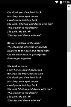 Walk The Moon Hits lyrics screenshot 2