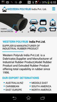 Western Polyrub App poster