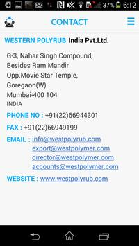 Western Polyrub App apk screenshot