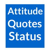 Attitude Quotes,Status message icon