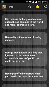 Mark Twain Quotes - Only Best apk screenshot