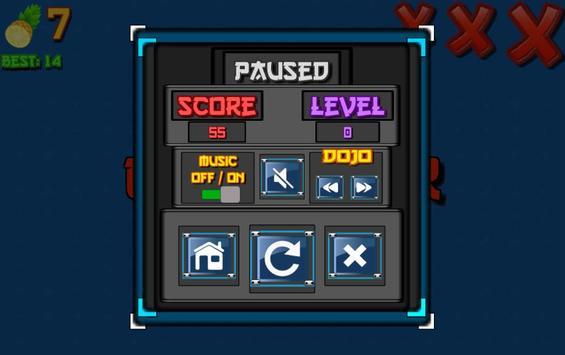 Ninja Fruit Slasher screenshot 1