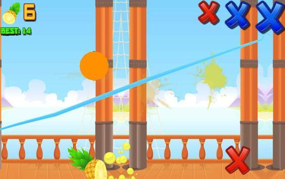 Ninja Fruit Slasher screenshot 4