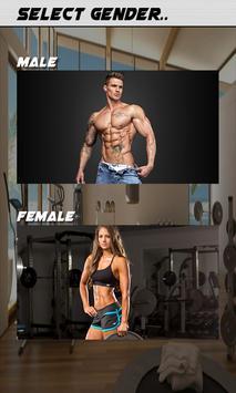 Home Workout For Men Women 6 Pack AbsLegsButt Screenshot