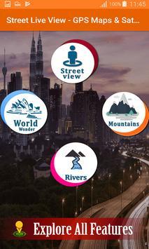 Street Live View - GPS Maps & Satellite Navigation screenshot 2