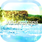 Raindrop Water Ripple LWP icon