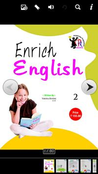 Enrich English 2 poster
