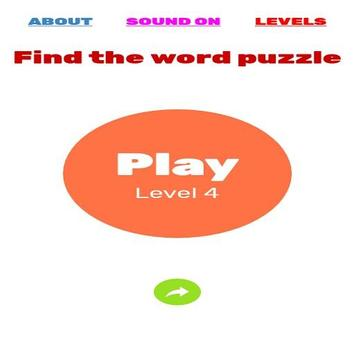 Find the word puzzle poster