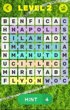 Football Word Search screenshot 2