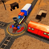 Express Train 3D icon