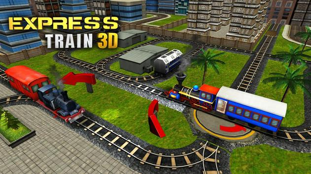 Express Train 3D apk screenshot