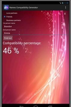 Names Compatibility Generator apk screenshot