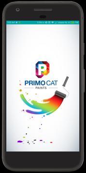 Primocat Paints poster