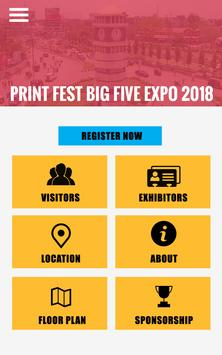 Print Fest Big Five Expo 2018 screenshot 1