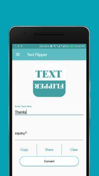Text Flipper poster