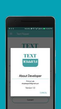 Text Flipper screenshot 2