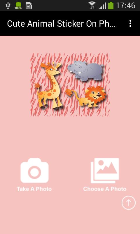 Animal sticker on photo editor screenshot 3