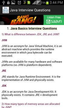 Java Interview Question for Android - APK Download