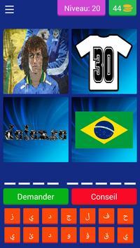 احزر اللاعب أربع صور و لاعب كرة واحد screenshot 4