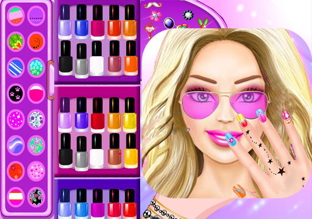 Nail Salon For Barbie Girls Game For Android Apk Download