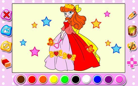 Kids Coloring Book Princess Apk Screenshot