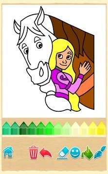 Princess Coloring Game screenshot 9