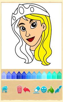 Princess Coloring Game poster