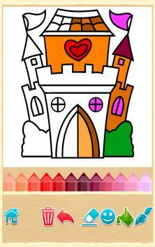 Princess Coloring Game apk screenshot