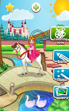 Princess Coloring Game screenshot 17