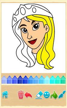 Princess Coloring Game screenshot 14