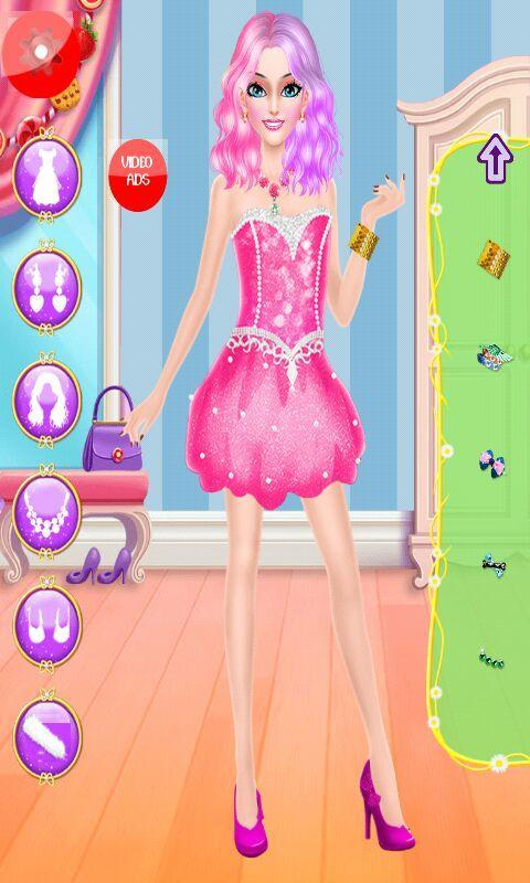 Barbie Makeup And Dress Up Games