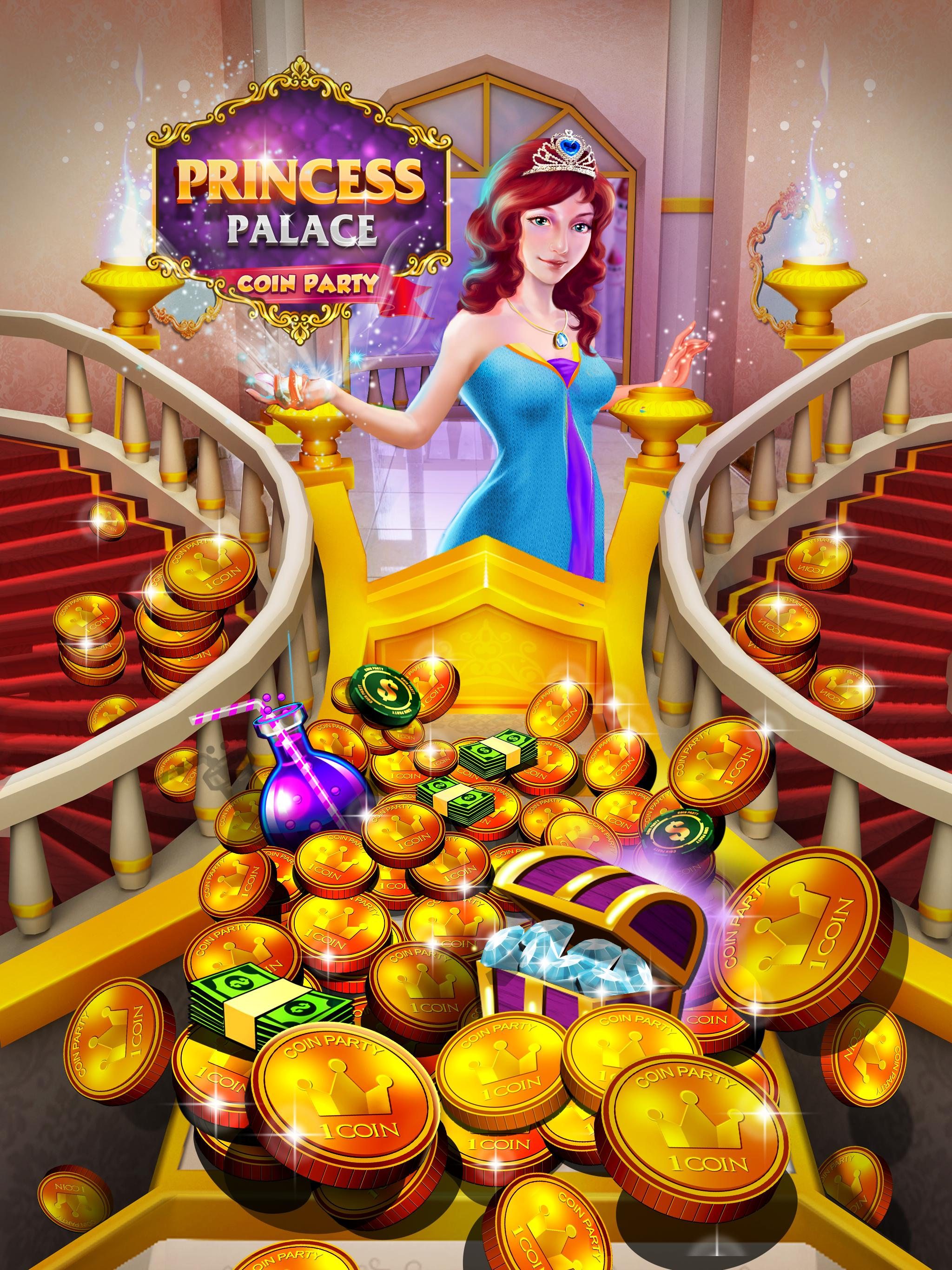 Princess Gold Coin Dozer Party for Android - APK Download