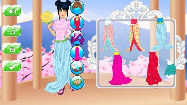 chinese princess make-up games apk screenshot