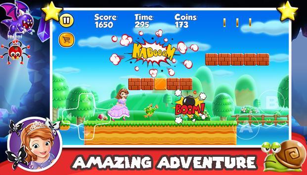 Princesse Sofia Subway Adventures apk screenshot