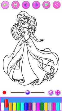 Top 35 Free Printable Princess Coloring Pages Online | 355x200