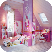 Princess Bedroom Designs icon