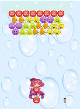 Princess Bubble Fruits Shooter apk screenshot