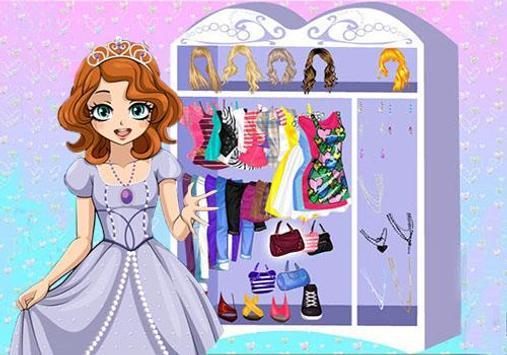 The First Dress Up Princess apk screenshot