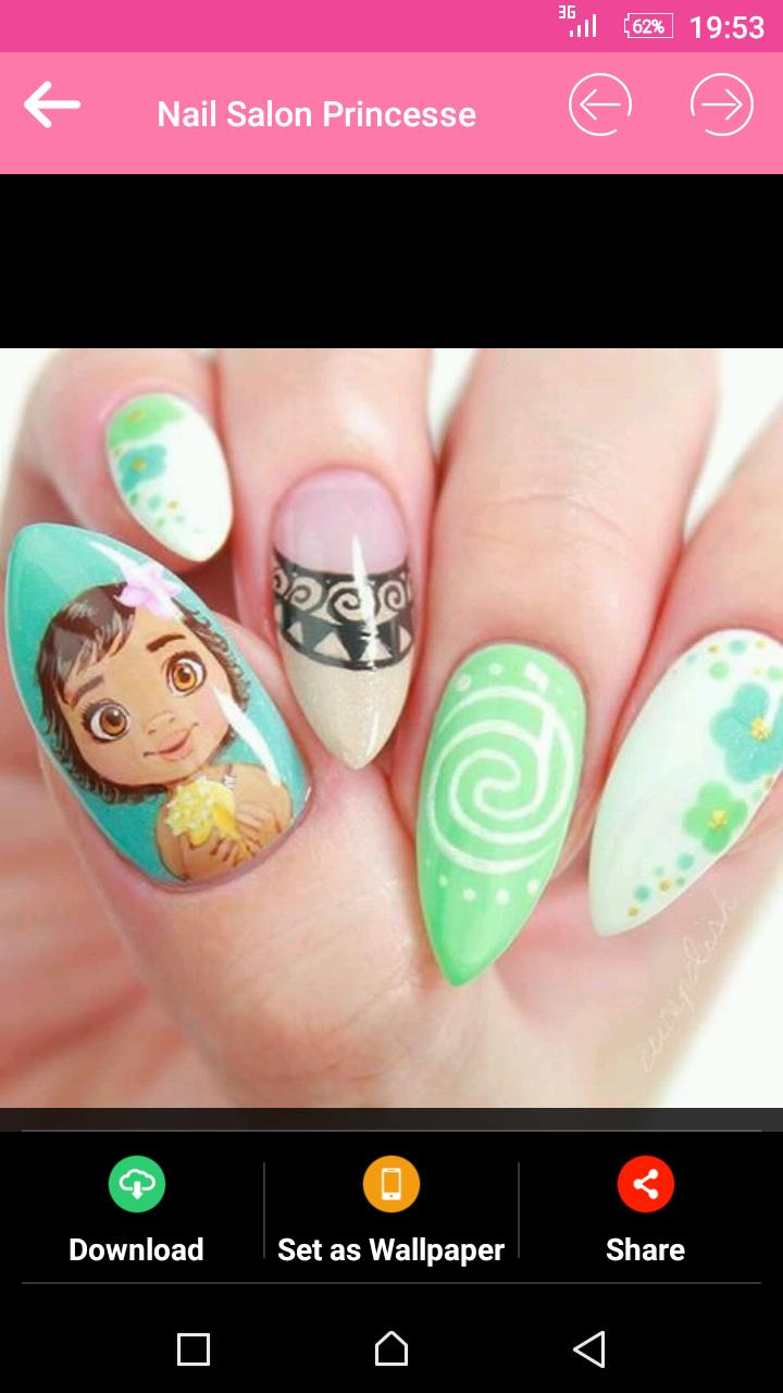 Disney Princess Nail Art for Android - APK Download