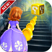 Princess Sofia Run Adventure : The First Games icon