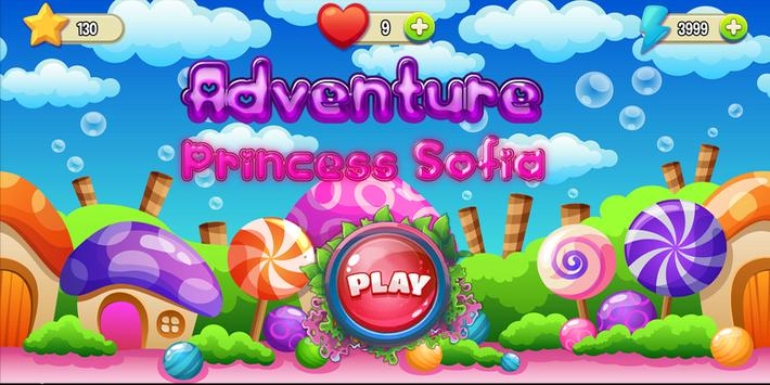 Princess Sofia Run Adventure : The First Games poster