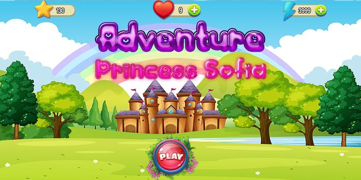 Princess Sofia Run Adventure : The First Games apk screenshot