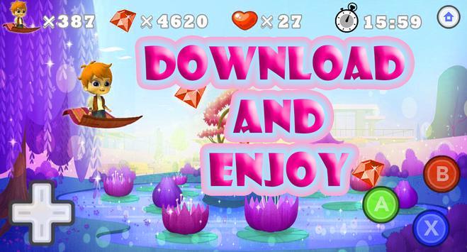 Princess Super Shimmer Adventure Run apk screenshot