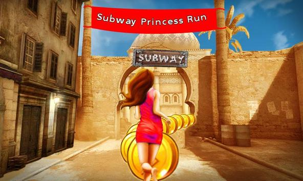 Subway Princess Run apk screenshot
