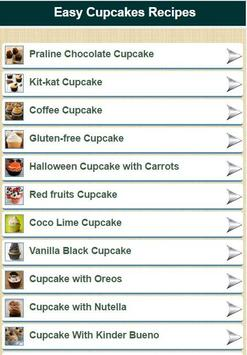 Cupcakes Recipes apk screenshot
