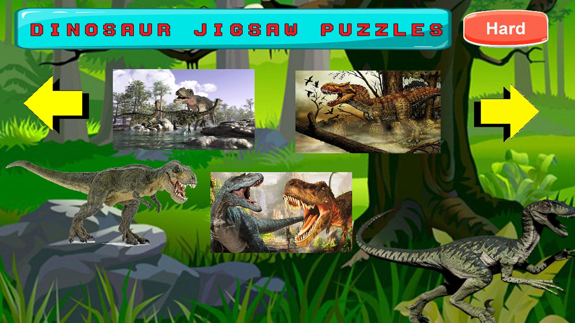 Dino Puzzle Kids Dinosaurs Puzzles Games For Android Apk Download
