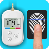 Blood Sugar Scanner And Checker Finger BP Prank icon